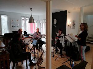 Focus klarinetkwartet Peter en de Wolf