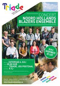 Concert NHBE @ Triade, Middenweg 2 Den Helder
